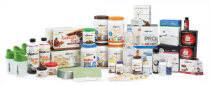 All of the isagenix products