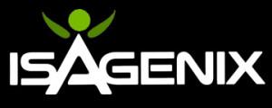 Isagenix logo black
